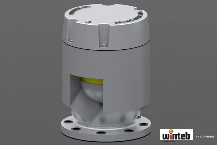 "WINTEB type approved IMO3573 ""watertight"" air vent heads (automatic closing devices)"
